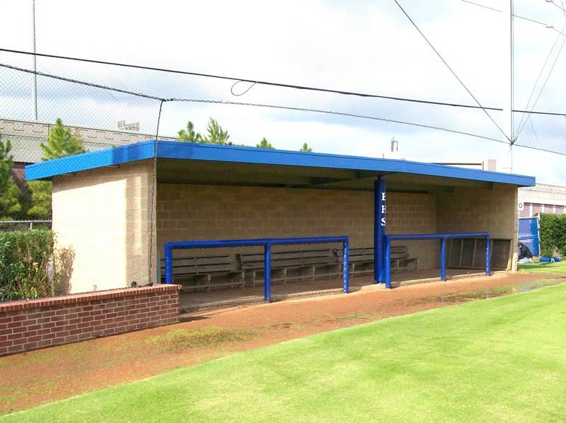 baseball dugout design