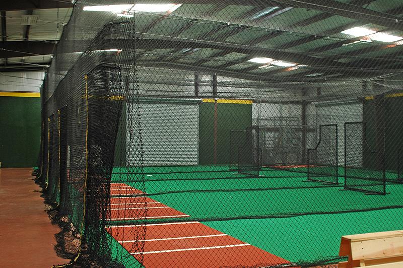 inside batting cages