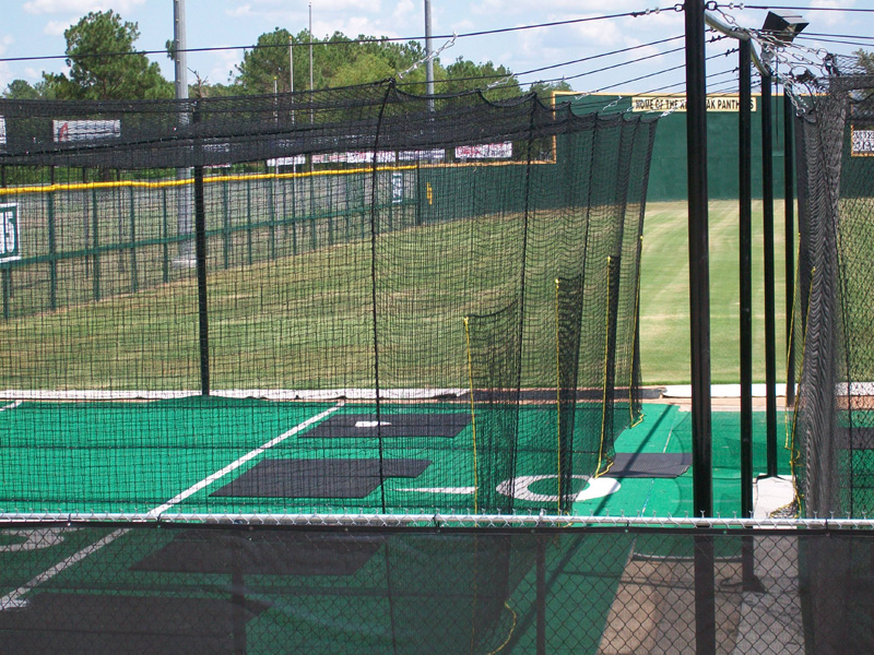 softball batting cage outdoor batting cages 3